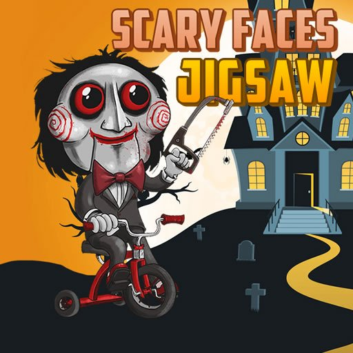 Scary Faces Jigsaw