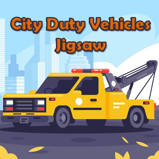 City Duty Vehicles Jigsaw