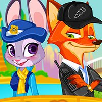 Zootopia Nick And Judy Dressup