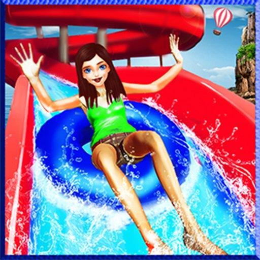 Waterpark Super Slide